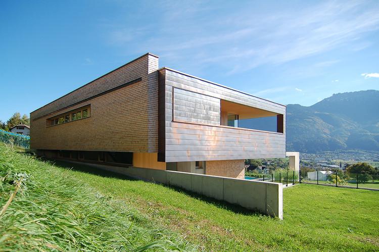 Casa en Liechtenstein / k_m architektur, Cortesía de k_m architektur