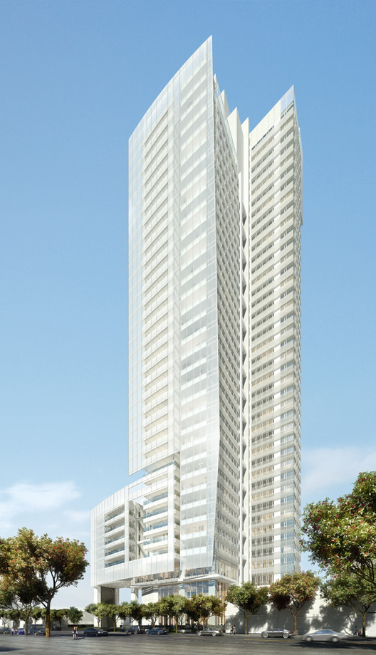 Richard Meier & Partners Unveils Their First Building in Taiwan, Courtesy of Richard Meier & Partners