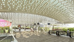 Marc Mimram Reveals Design for New TGV Station in Montpellier