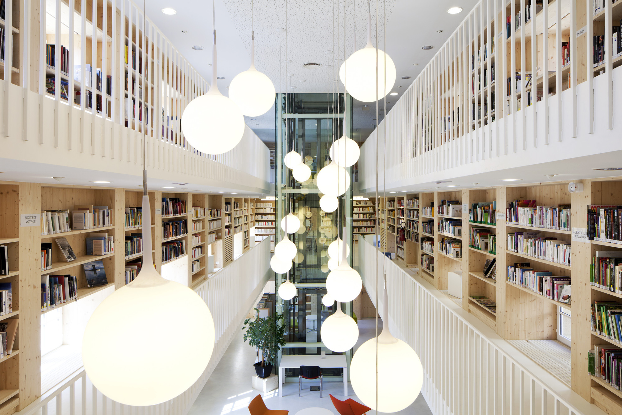 Refurbishment Of The Year BIG Library Gourdon France CoCo Architecture With Atelier
