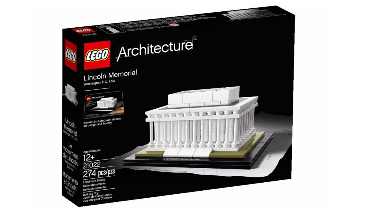 Lincoln Memorial and Flatiron to Join LEGO® Architecture Series, © LEGO®
