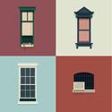 José Guizar retrata as variadas janelas de Nova Iorque através de suas ilustrações semanais. Cortesia de José Guizar