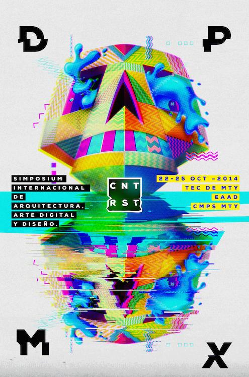 Diseño Punto MX 2014, Simposio Internacional de Arquitectura, Arte Digital & Diseño en Monterrey