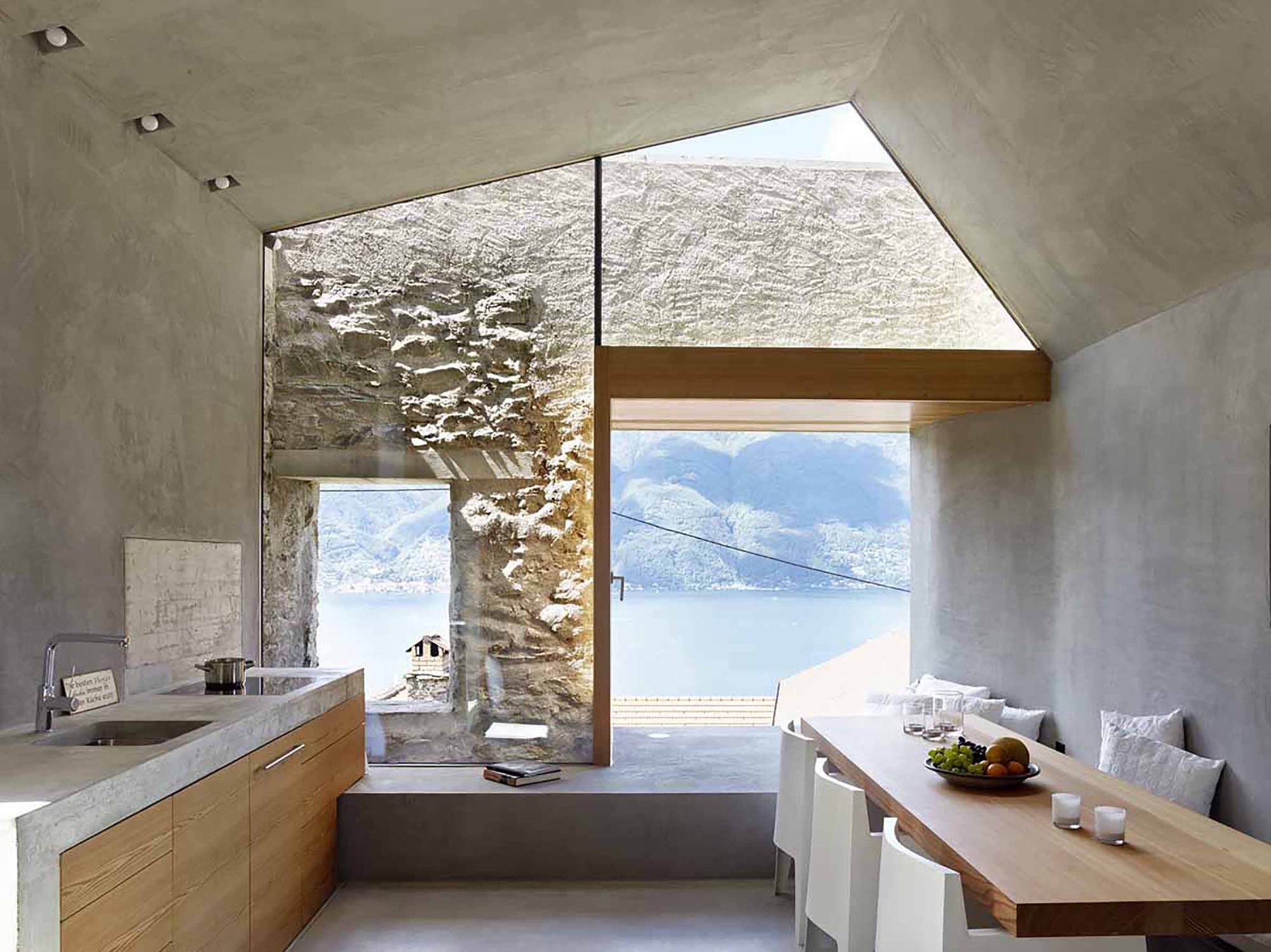 Gallery of Stone House Transformation in Scaiano / Wespi