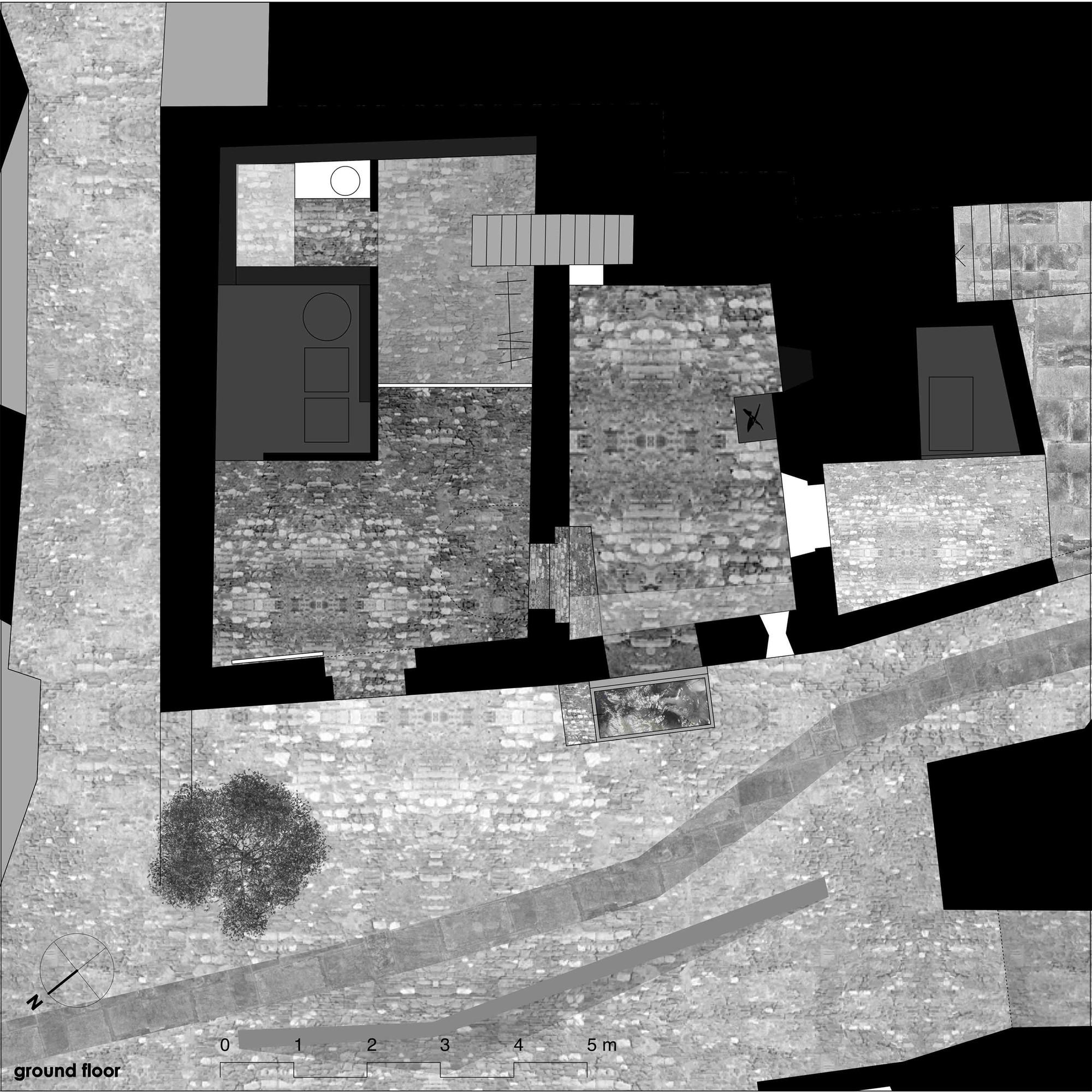 Gallery of Stone House Transformation in Scaiano Wespi de Meuron