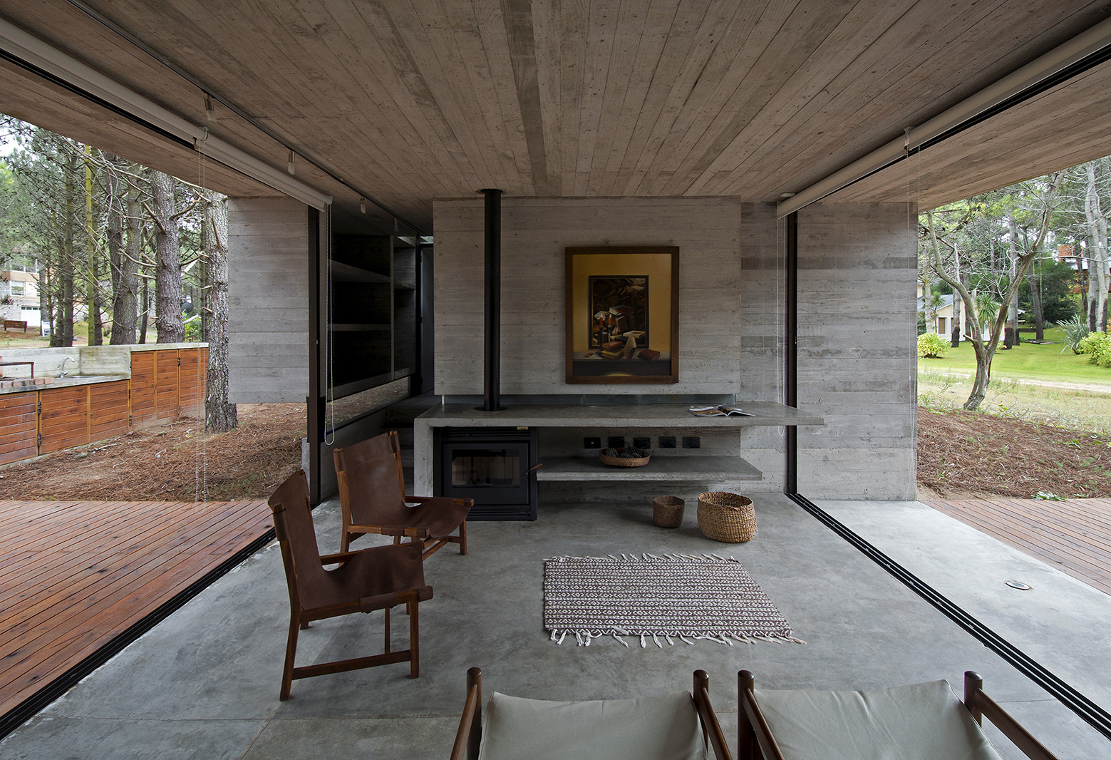 Gallery Of Sv House Luciano Kruk Arquitectos 4 # Muebles Luciano