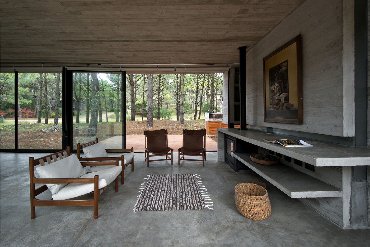 Gallery Of Sv House Luciano Kruk Arquitectos 3 # Muebles Luciano