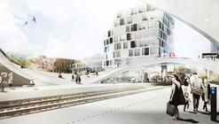 Henning Larsen Wins Competition for Future Vinge Train Station in Denmark