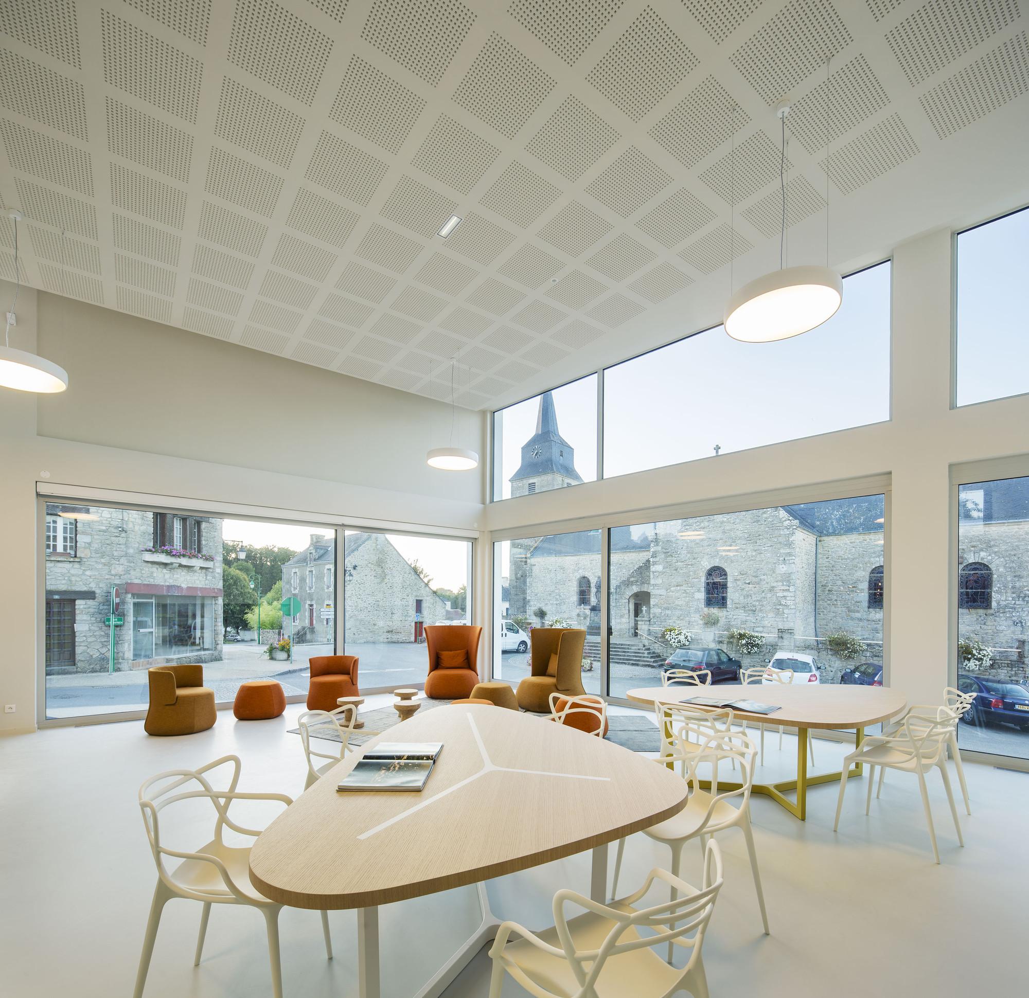 Médiatheque de Monterblanc / Studio 02, © Luc Boegly