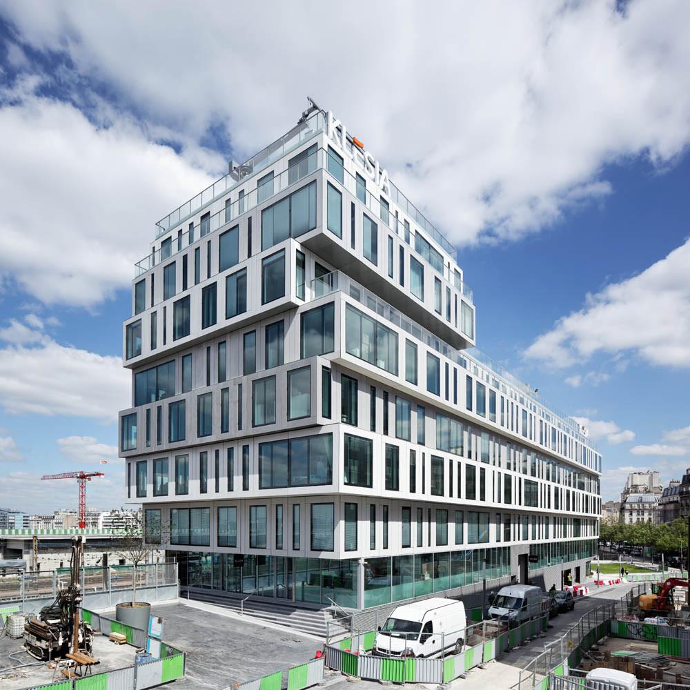 Bloco de Escritórios Strato / Hardel et Le Bihan Architectes, © Vincent Fillon