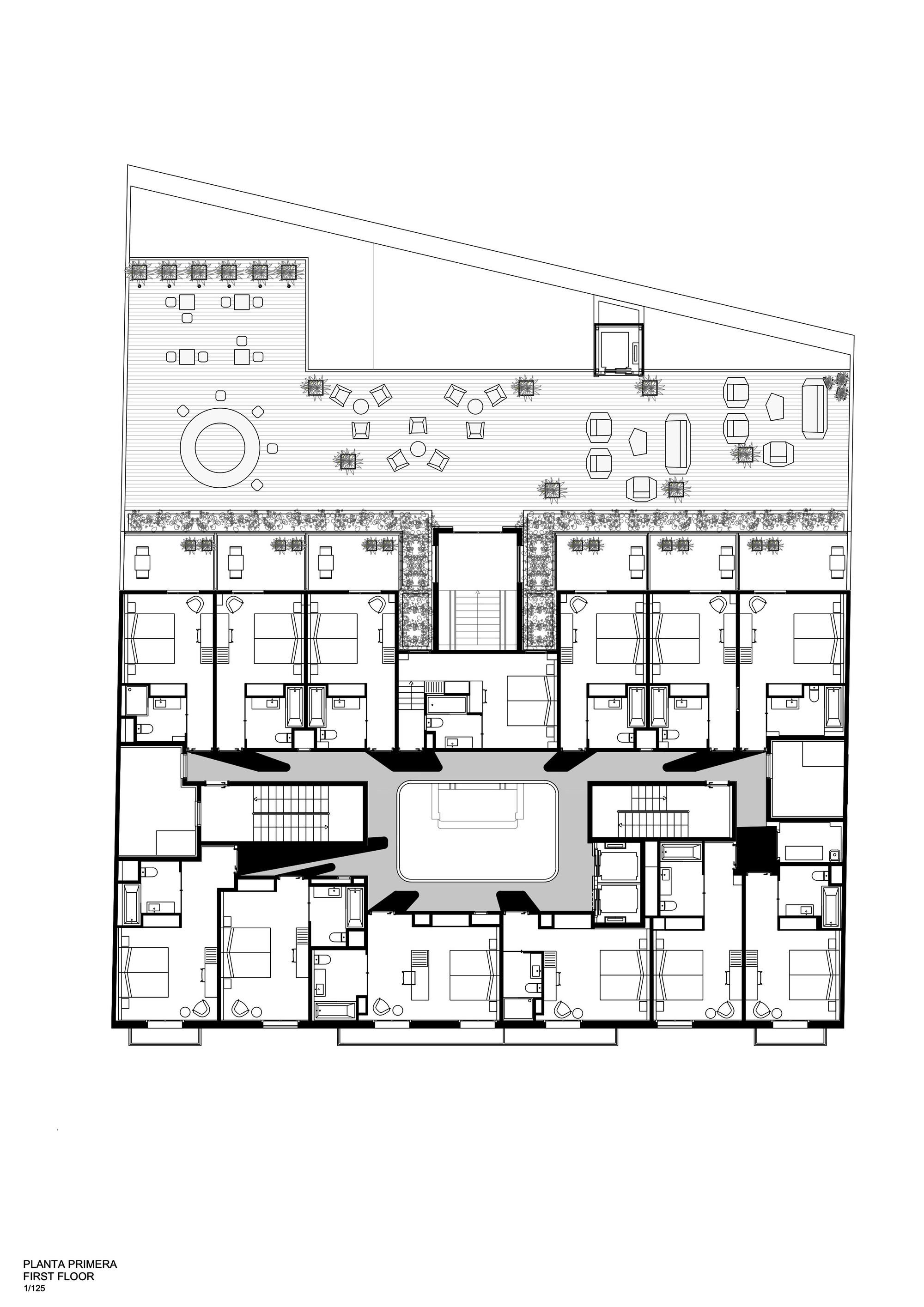 Galería de Hotel Vincci Gala Barcelona / TBI Architecture