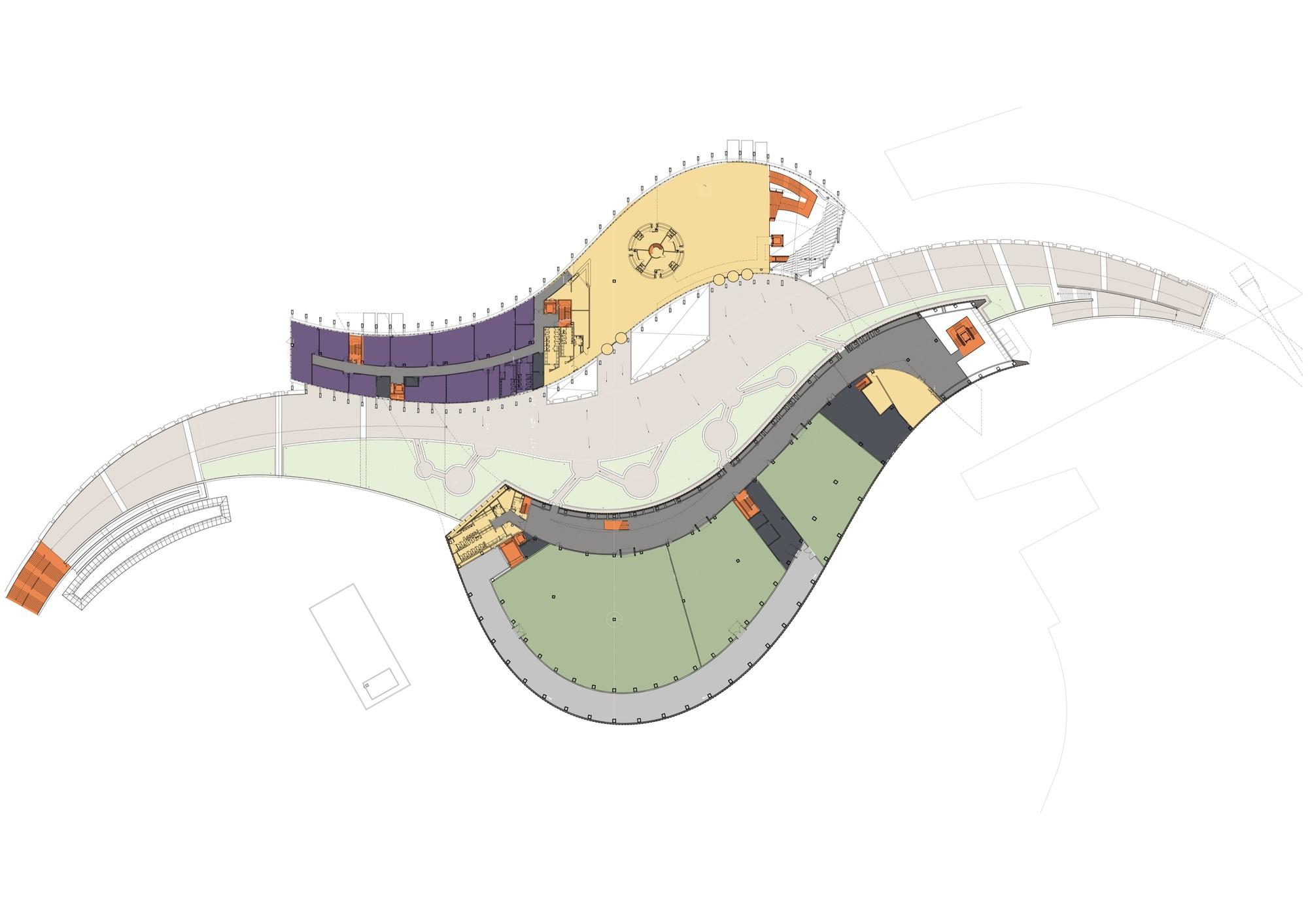 Galer a de en construcci n museo del palacio sector sur for Esstisch 2 00 m