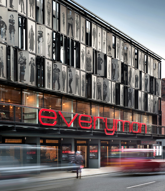 2014 Stirling Prize winner: The Everyman Theatre / Haworth Tompkins. Image © Philip Vile