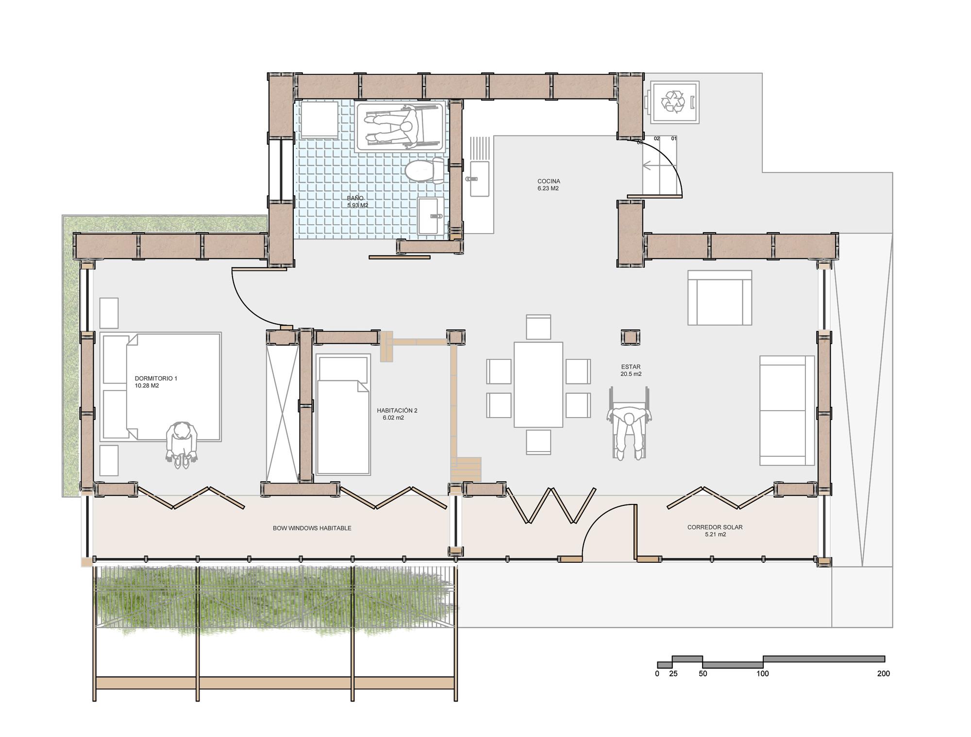 Galer a de construye solar casa made prototipo de for Cocina definicion arquitectura