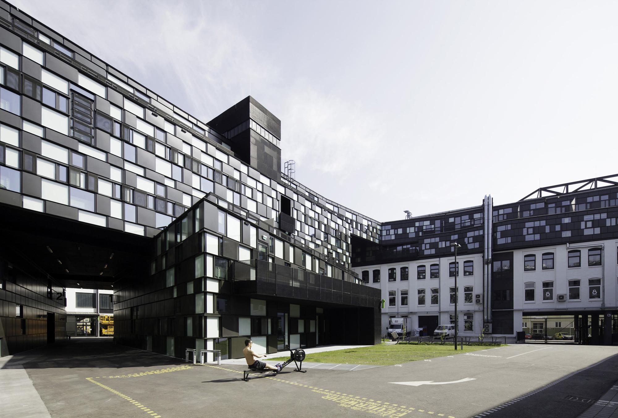Wirtschaftspark Breitensee / HOLODECK Architects, © Wolfgang Thaler