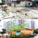 Pinto Salinas, Caracas: antes e depois. Imagem Cortesia de PICO Estudio