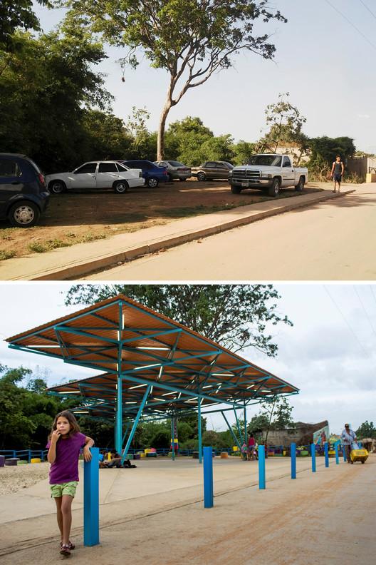 Los Mangos, Valencia: antes e depois. Imagem Cortesia de PICO Estudio