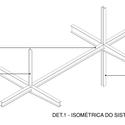 Detalhe da estrutura. Image Cortesia de Equipe vencedora