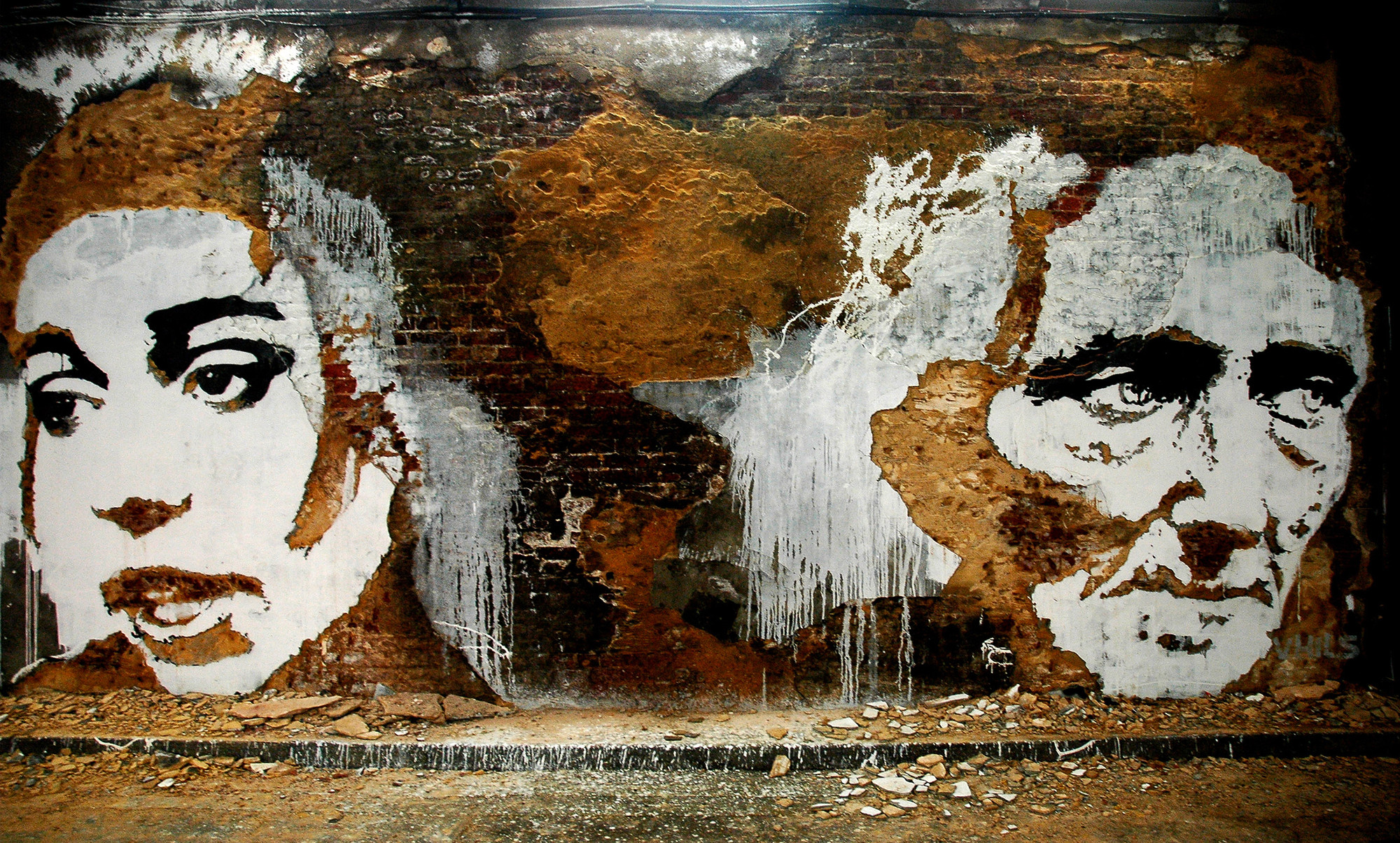 "Arte y Arquitectura: ""Scratching the Surface"" por Vhils, Cans Festival © Vhils"