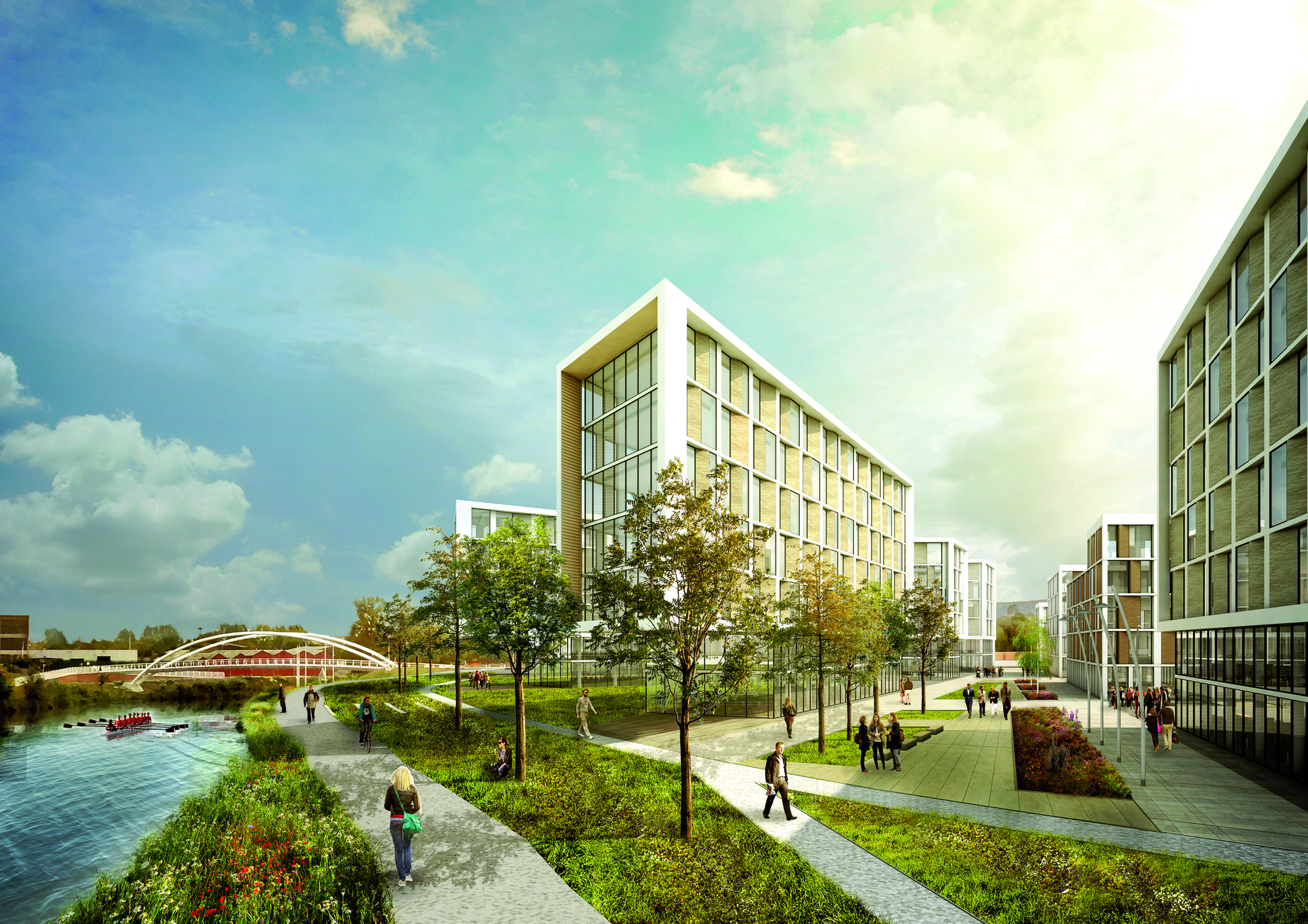 7N Architects Reveal Glasgow Masterplan, Courtesy of 7N Architects