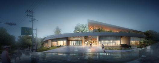 Entrance. Image © Nomad Office Architects