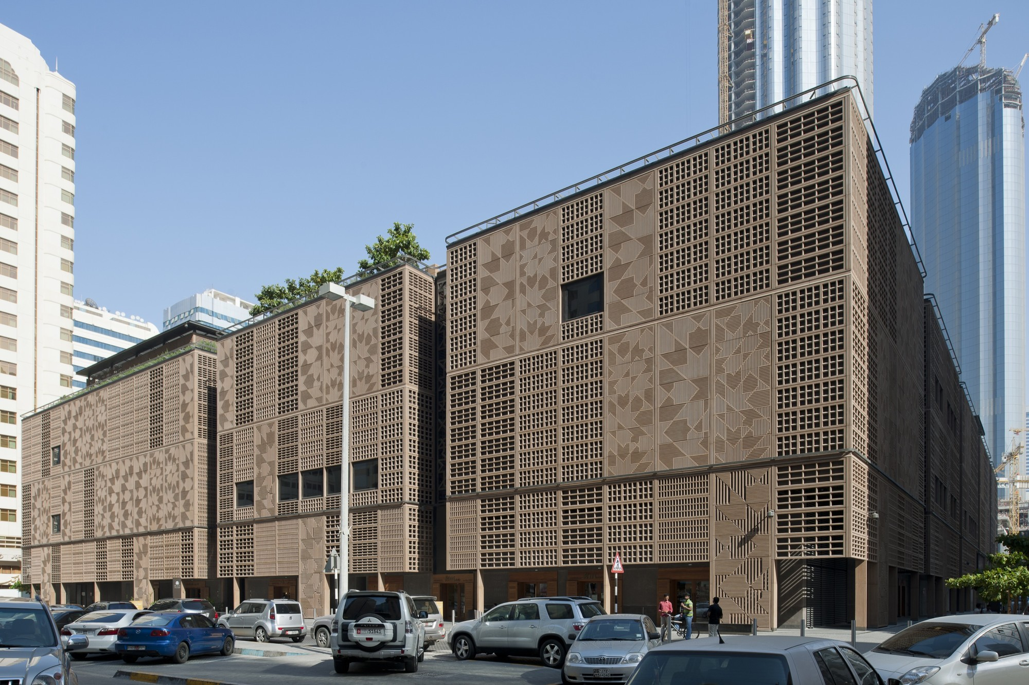 Abu dhabi central market foster partners archdaily for Ec harris dubai