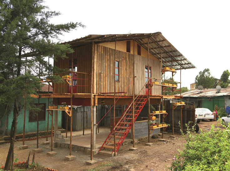 Affordable House Design With Low Cost Construction: 12 Projects Win Regional Holcim Awards 2014 For Africa