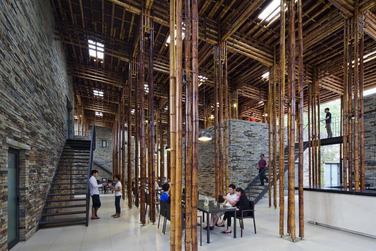 Restaurante Son La / Vo Trong Nghia Architects, © Hiroyuki Oki