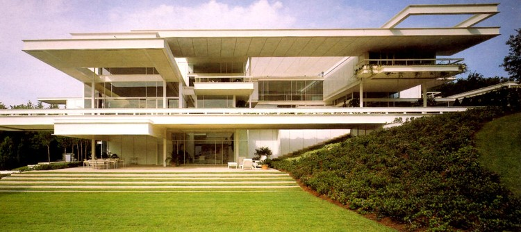 Spotlight: Paul Rudolph, Bass Residence. Image © Tony Monk