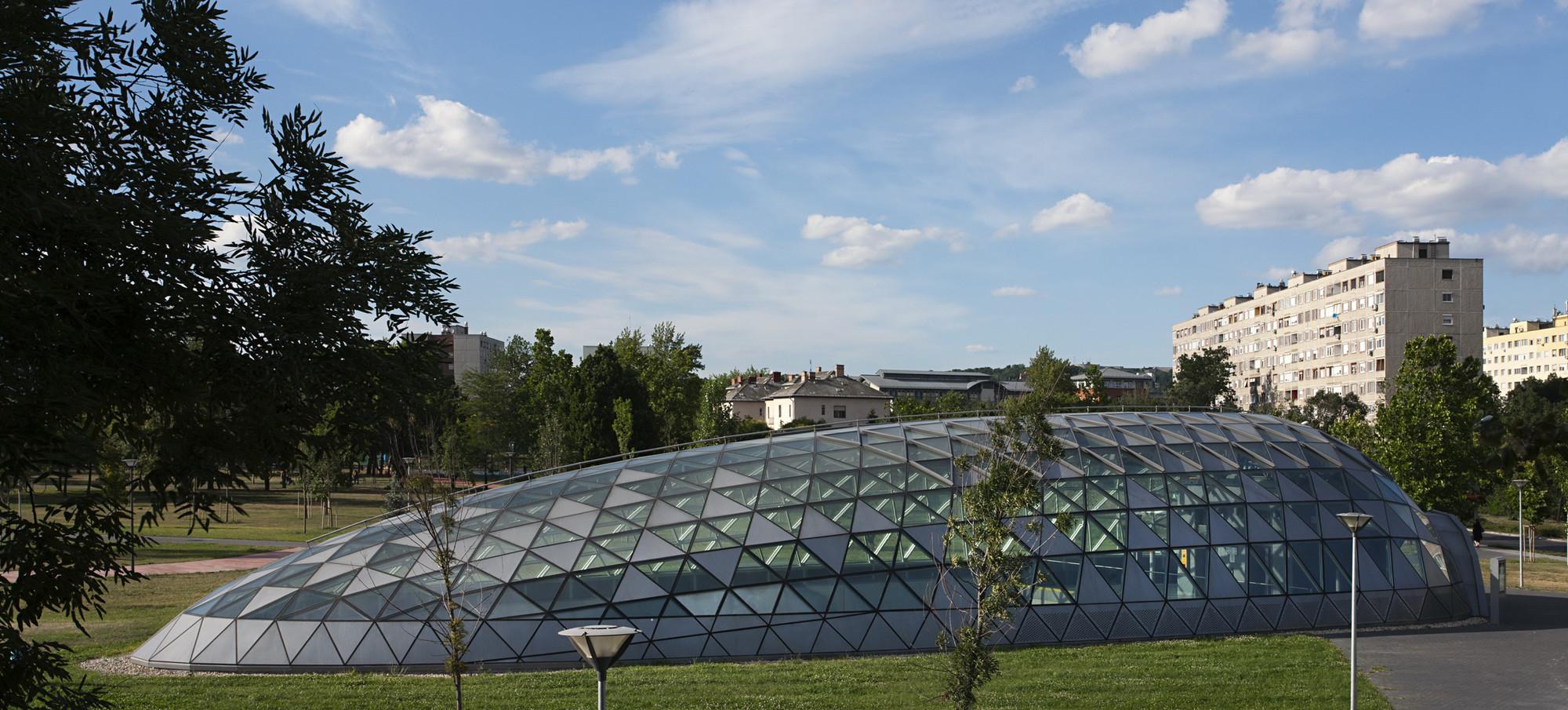 galeria de linha de metr m4 de budapeste esta o bik s park palatium studio 11. Black Bedroom Furniture Sets. Home Design Ideas