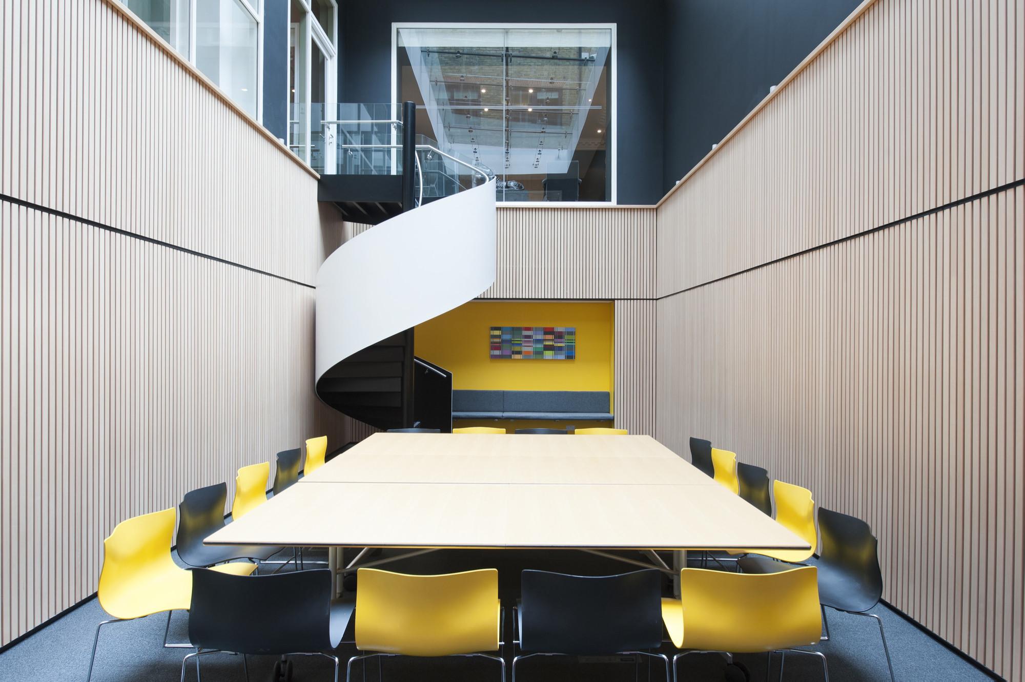 Reforma contemporânea para um escritório clássico em Mayfair / Brady Mallalieu Architects, © David Jensen Photography