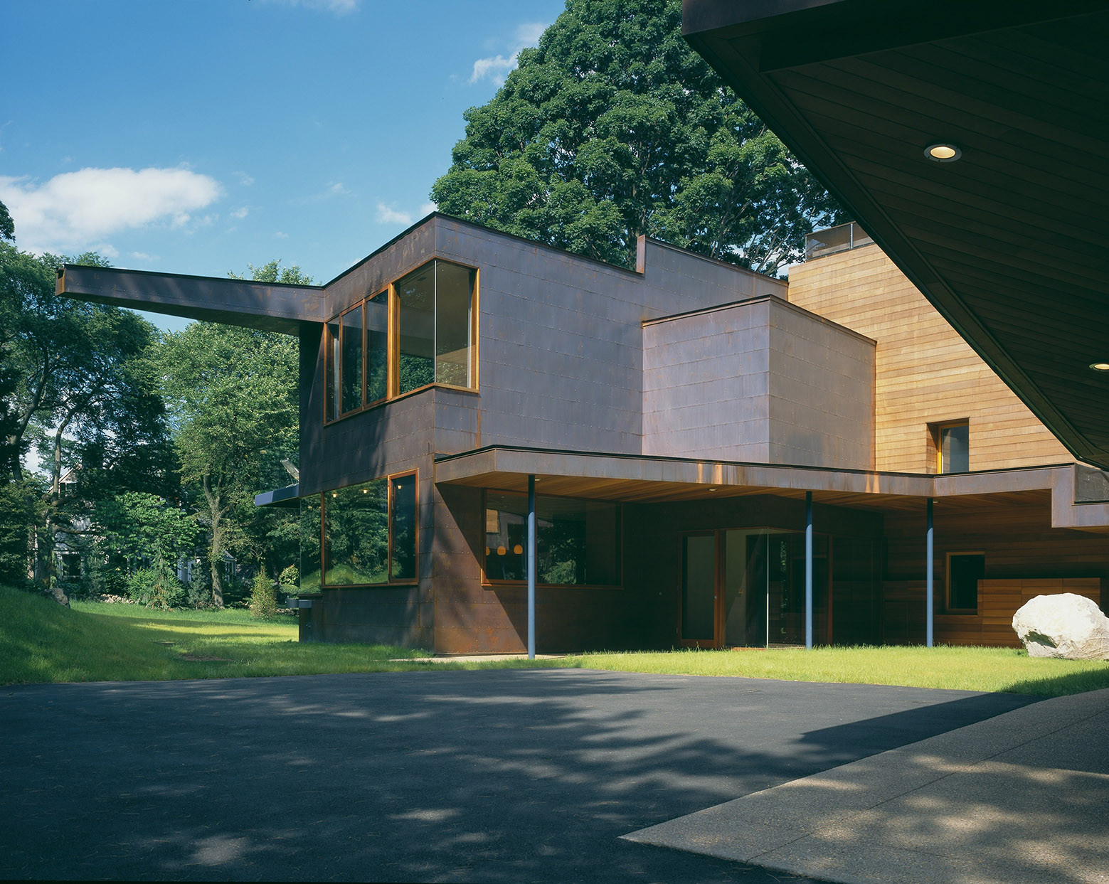 Copper House / Charles Rose Architects, Courtesy of Charles Rose Architects