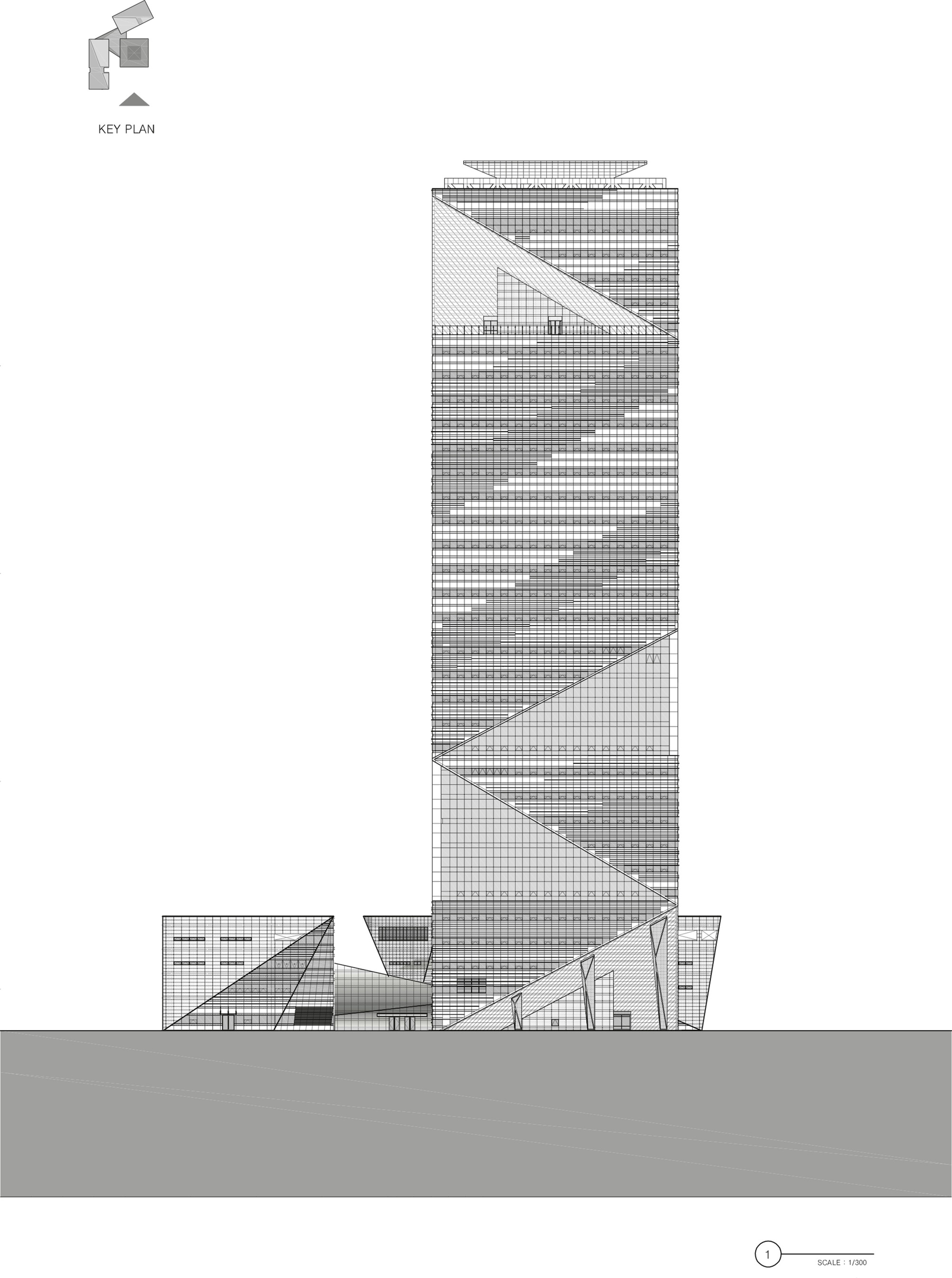 Homefront Tower Elevation : Gallery of g tower haeahn architecture designcamp