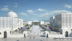 Bureau Architecture Méditerranée Designs Algerian Parliament Around a Vast Plaza