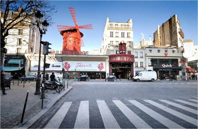 Paris 2009: Nueva Escuela de Danza para el Moulin Rouge