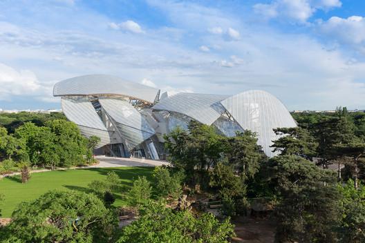 Fondation Louis Vuitton, Paris. Image © Iwan Baan