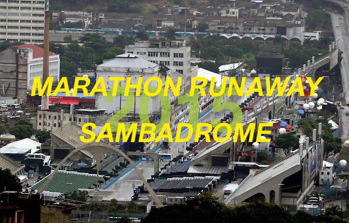 Inscrições abertas para a Architectural Association Visiting School no Rio de Janeiro - Marathon Runaway Sambadrome, Cortesia de Architectural Association Visiting School