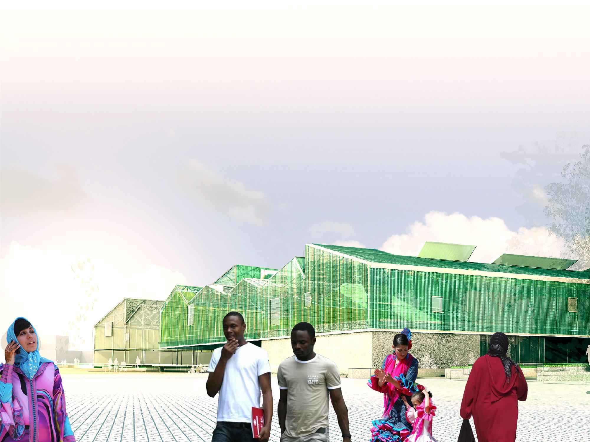 Reestructuración agrícola, Primer Lugar en Holcim Awards Next Generation Europe 2014 / España, Equipamiento Agroindustrial. Image Cortesia de DAT Pangea