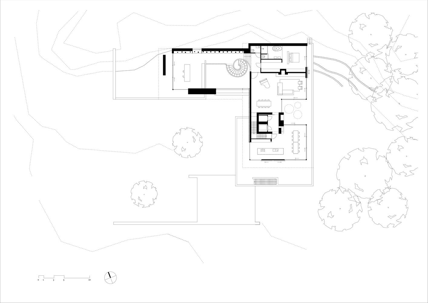 Dune villafirst floor plan