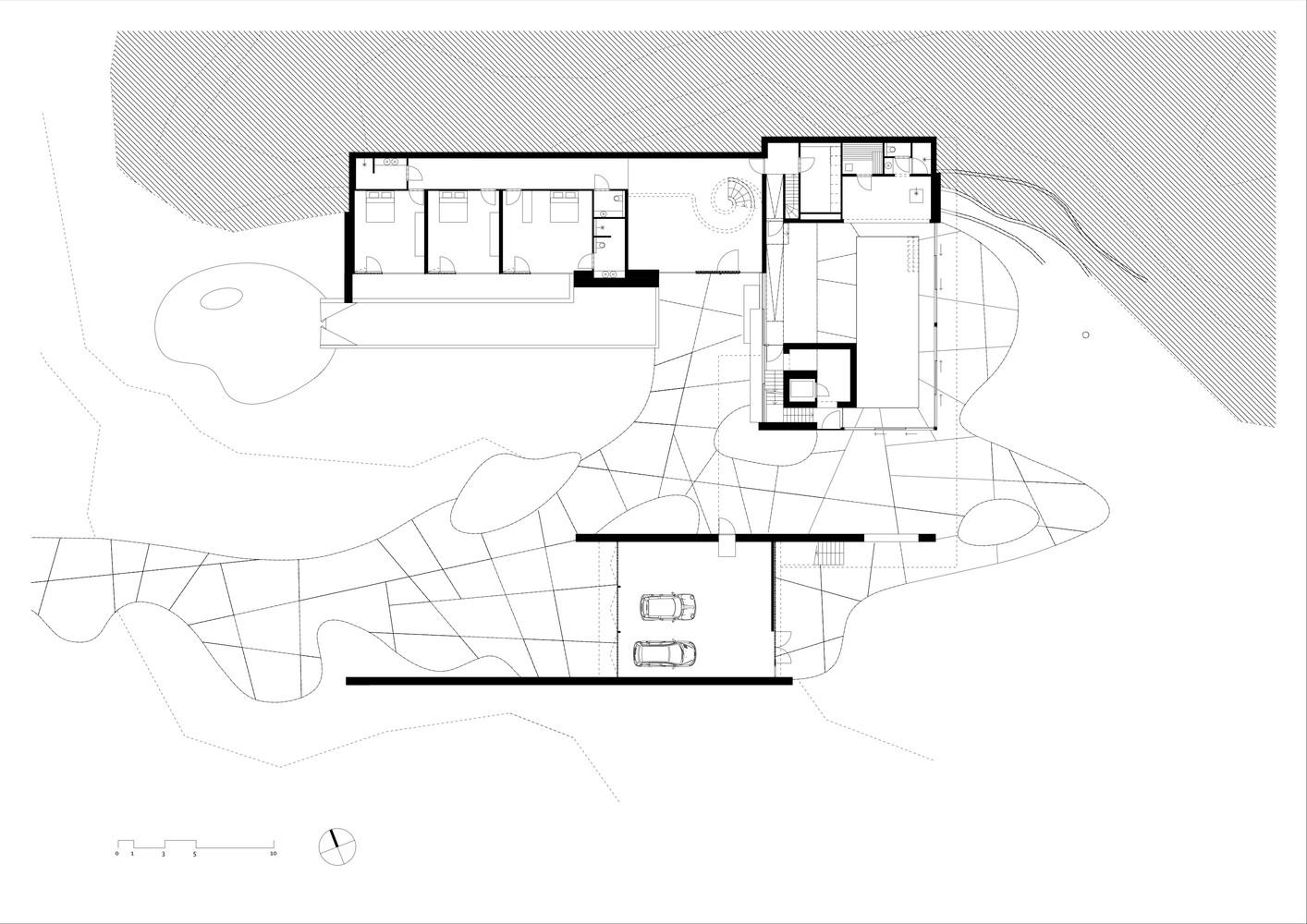 Dune villaground floor plan