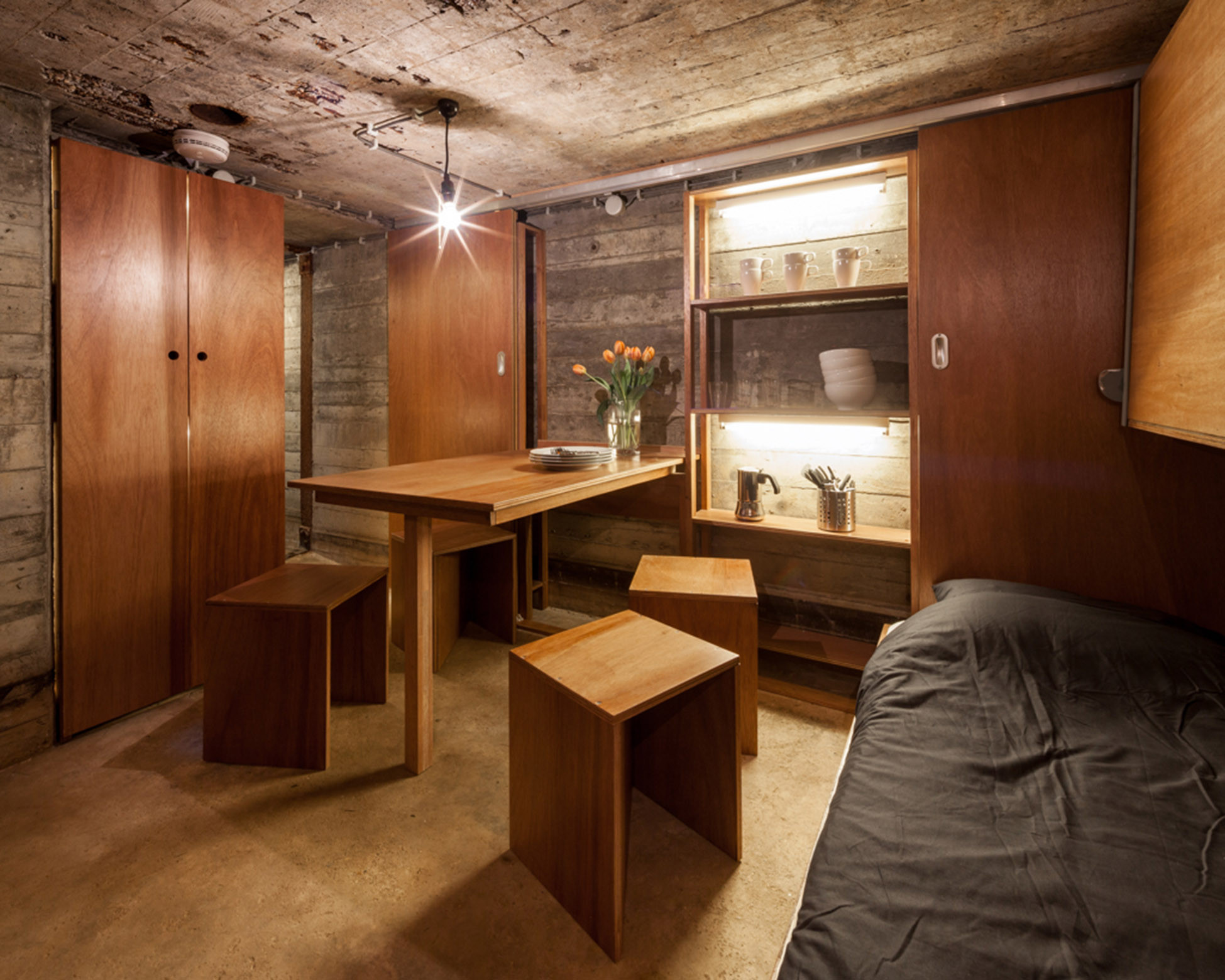 War Bunker Refurbishment / B-ILD, © Tim Van de Velde