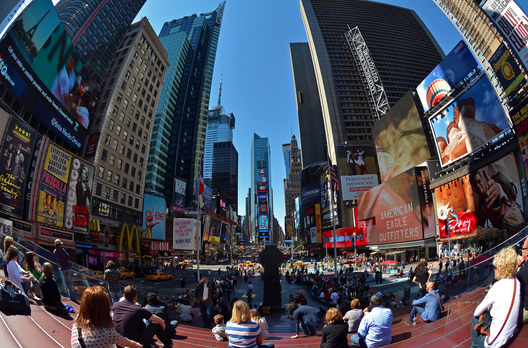 Times Square, Nova Iorque © Brian Digital, via Flickr
