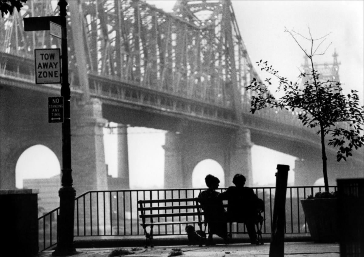 Cinema e Arquitetura em 45 filmes, Cena do filme Manhattan de Woody Allen, 1979