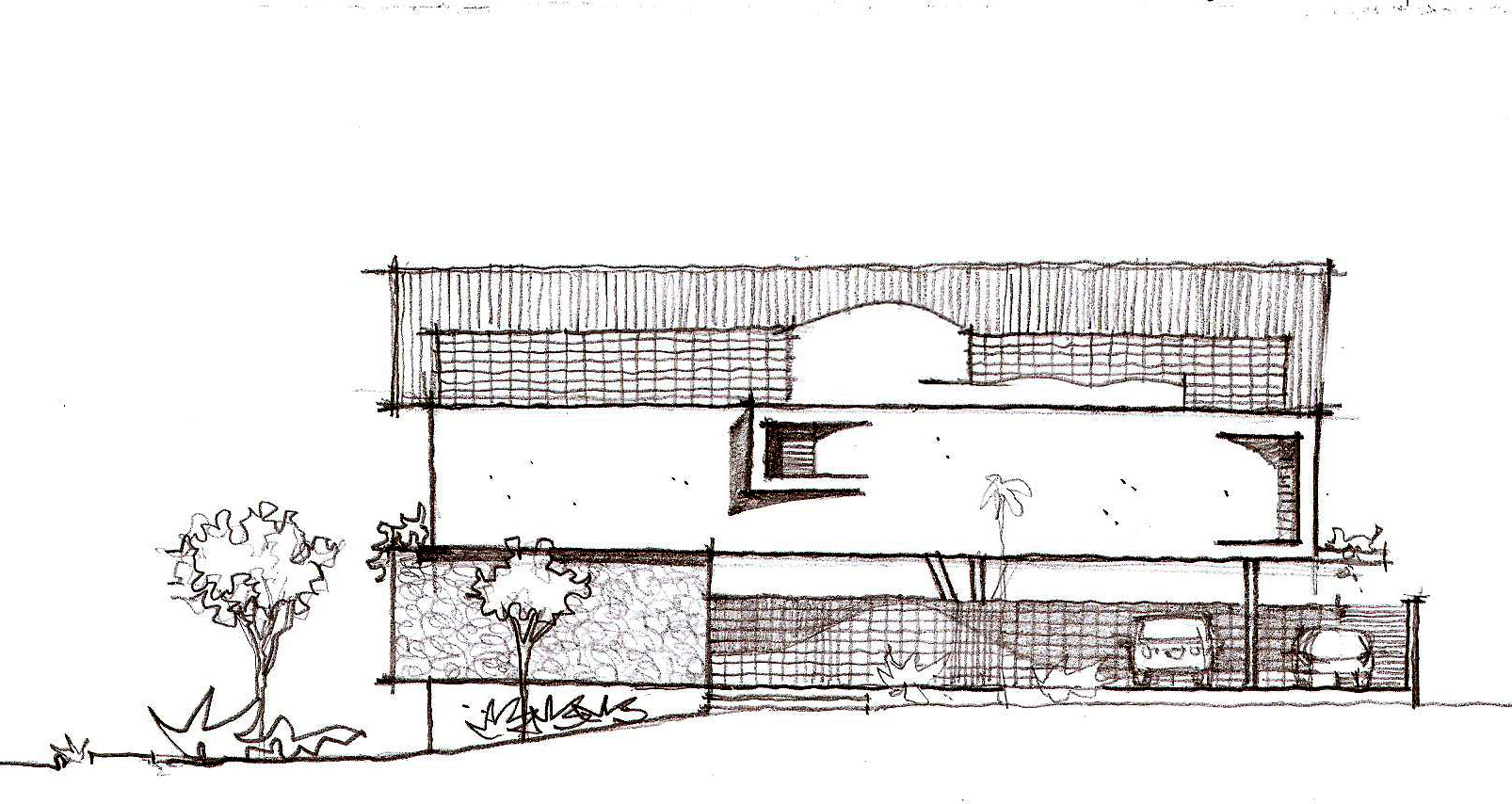Galer a de casa del arquitecto jirau arquitetura 28 - Arquitecto de brasilia ...