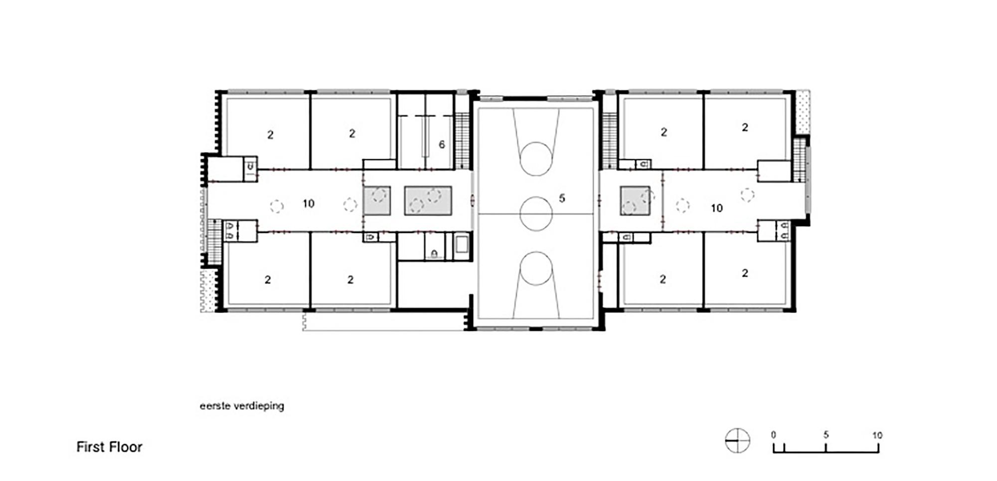 Desenhar Planta Baixa Gratis Escola Montessoriana Waalsdorp De Zwarte Hond