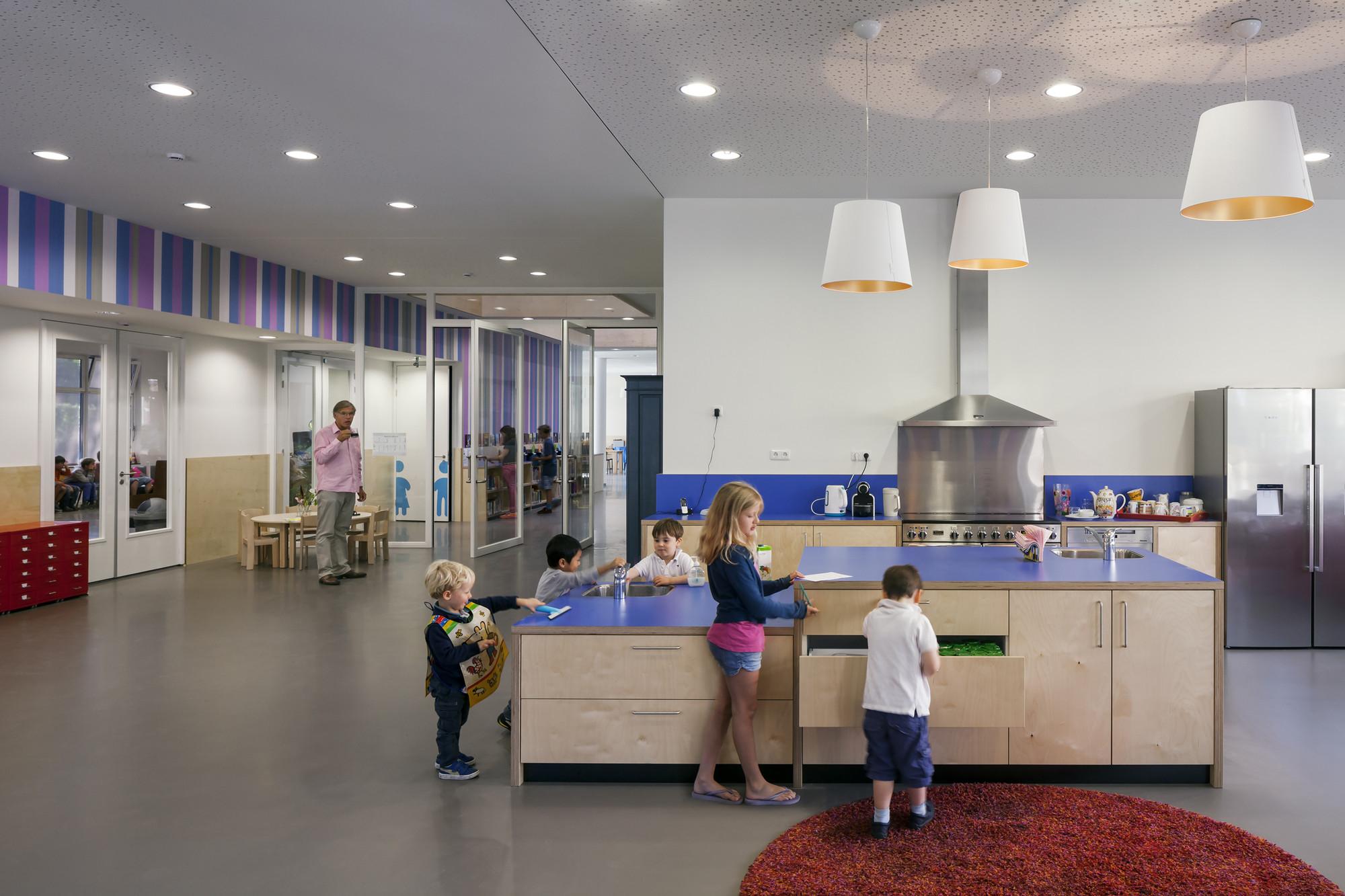Montessori School Waalsdorp De Zwarte Hond on Design A Kitchen Floor Plan