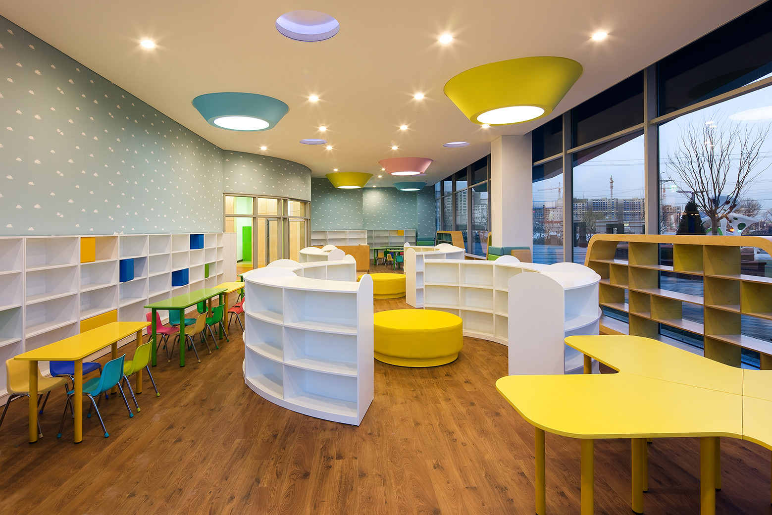 architecture architects children science museum incheon engineering park haeahn seongwoo engineers childrens young inside through arch2o panel cafeteria