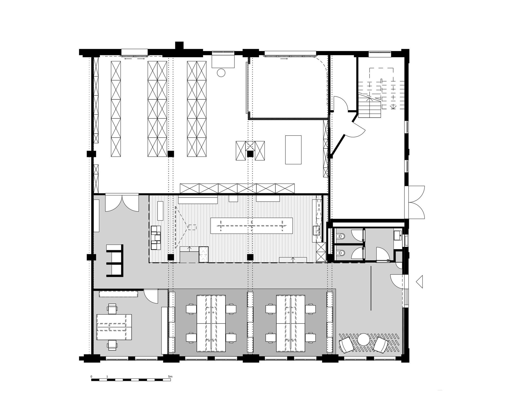 Projeto De Interiores Do Loft Do Escrit Rio Movet Studio Alexander