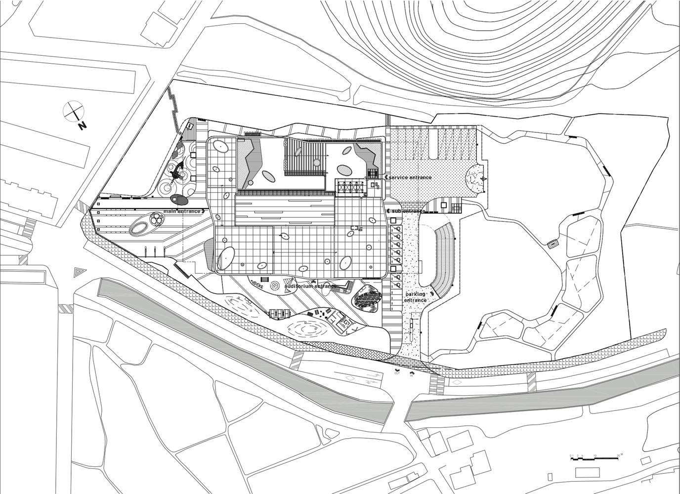 Gallery of Incheon Children Science Museum HAEAHN Architecture – Site Plan Software