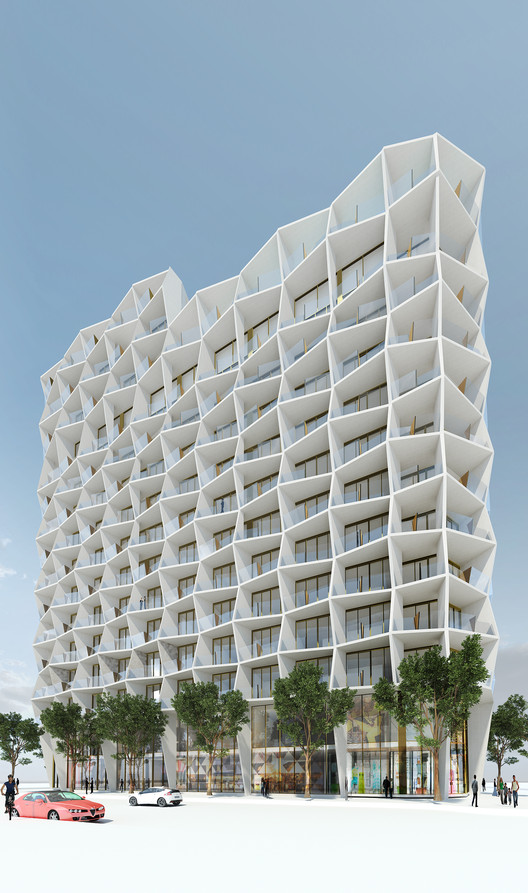 Miami Design District Tower / Studio Gang, Courtesy of Studio Gang Architects